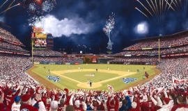 Phinally! 2008 World Series by Michael Kuyper