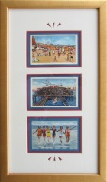 Vintage Atlantic City Postcard Trio