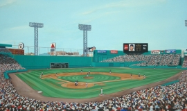 Fenway Park by Michael Kuyper $40