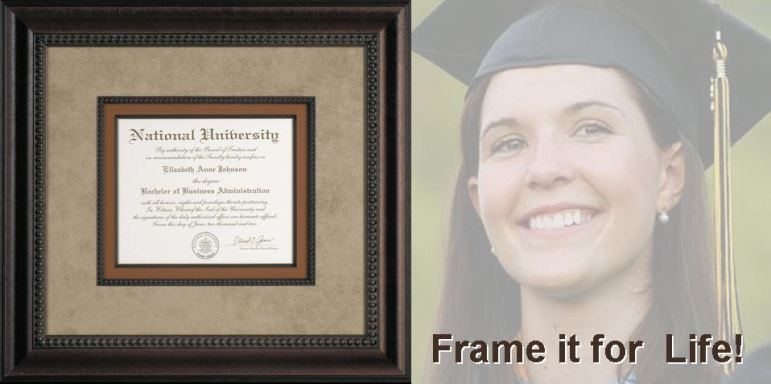 Whispering Woods Gallery Diploma Framing