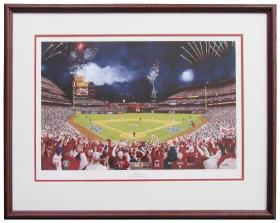 Framed Phinally, $225 framed