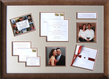 Framed Wedding Montage