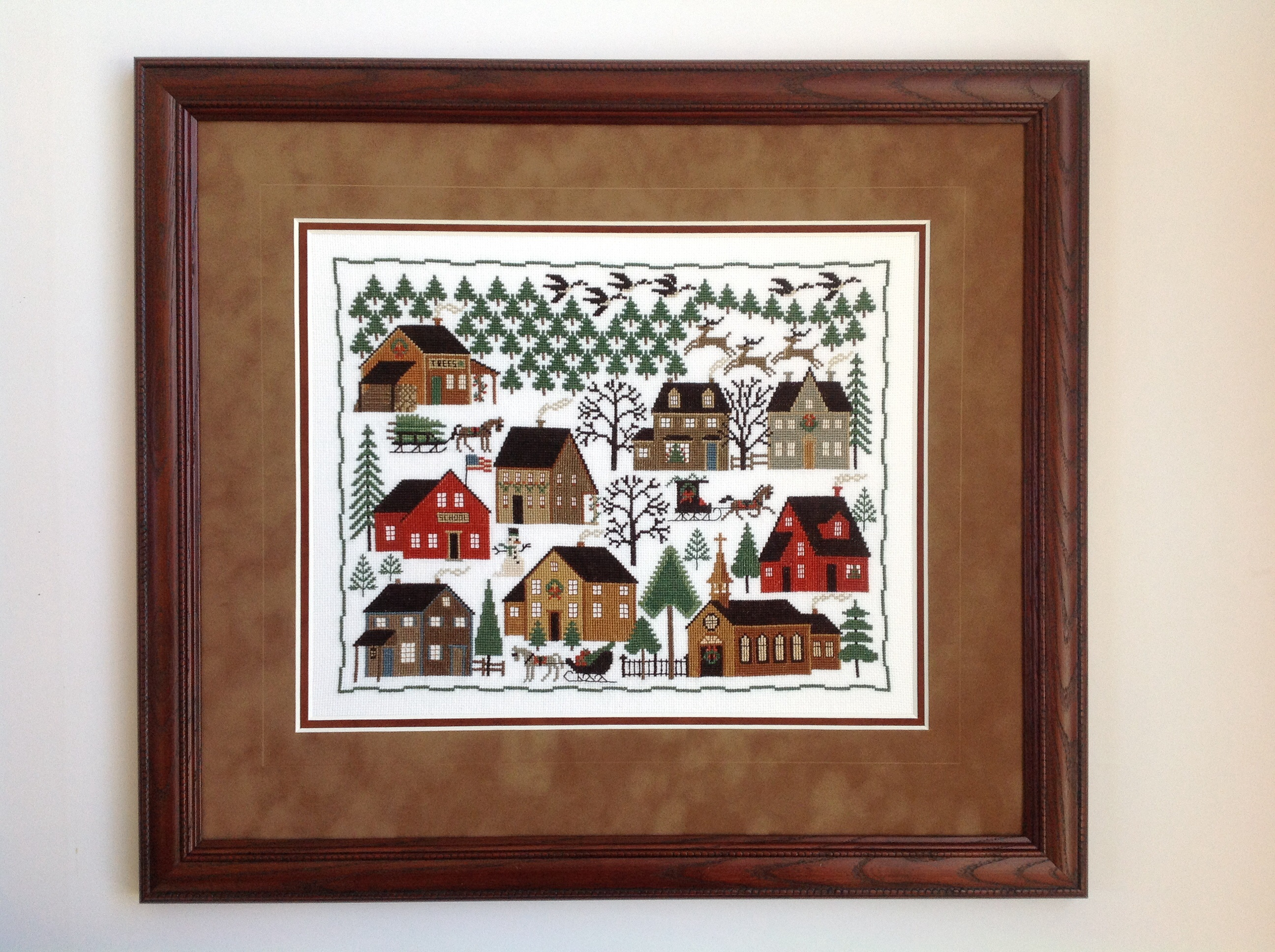 americana cross stitch