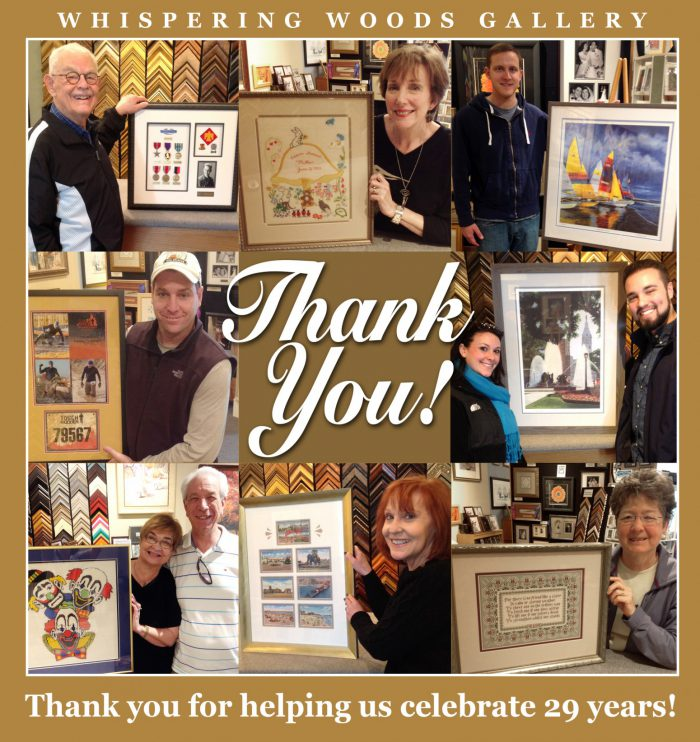 Whispering Woods Gallery Thanks you!