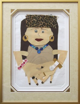 Framed Children's Artwork