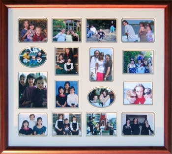 Framed Photo Montage