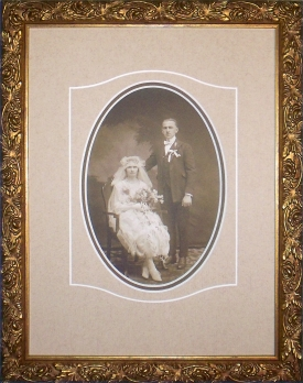 Framed Vintage Photo
