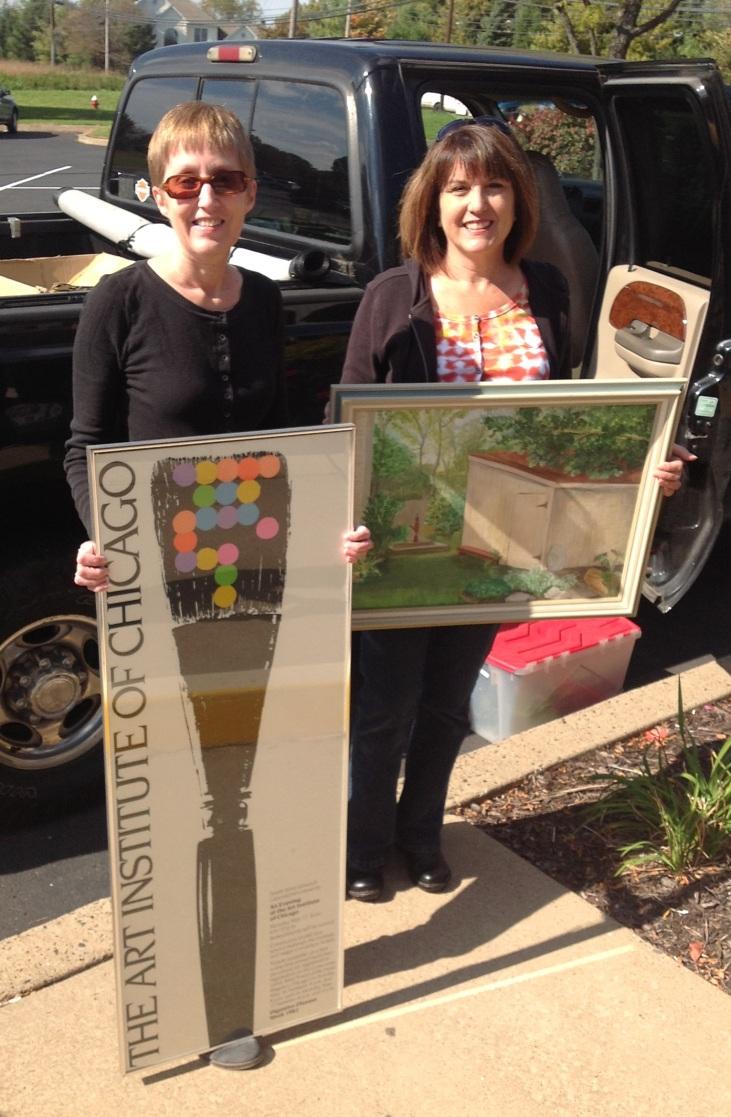 Deserving Decor picks up artwork donations