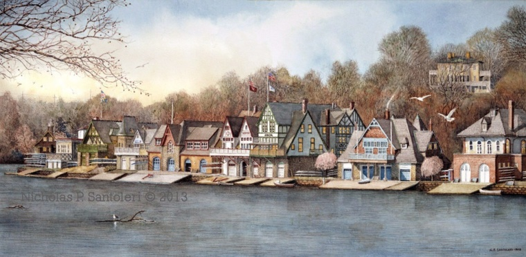 Boat House Row image