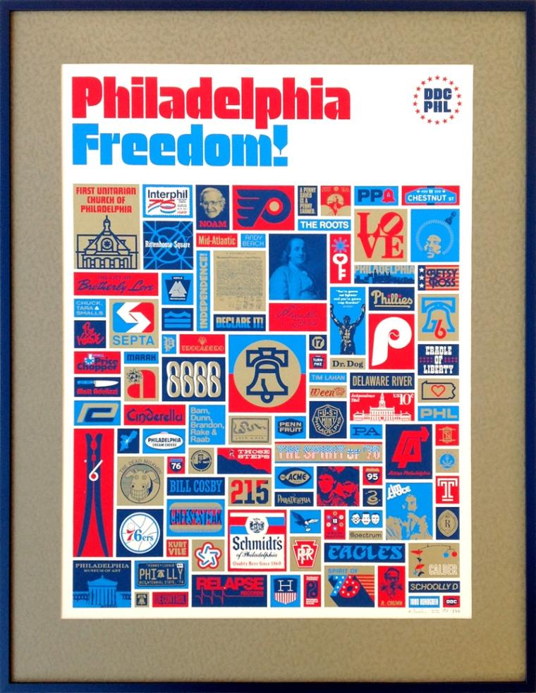 Philadelphia Freedom poster