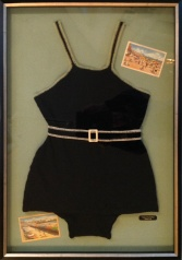 Custom Framed Vintage Bathing Suit