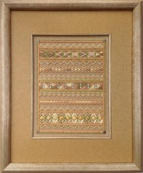 Framing for Needlepoint Linen mat, fillet, museum glass