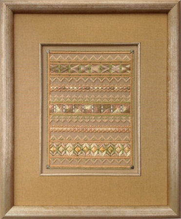 Framing for Needlepoint Linen mat, fillet, museum glass