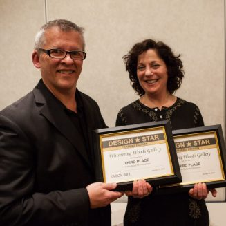 Greg Perkins Larson Juhl Marketing Manager and Susan Gittlen Award Winner