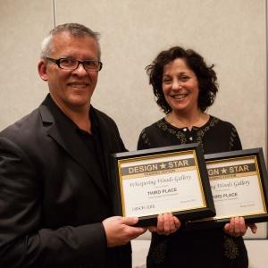 Greg Perkins Larson Juhl Marketing Manager and Susan Gittlen Award Winner