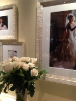 Romantic Custom Frames for Wedding Portraits