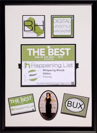 Bucks Happening Magazine Award Montage