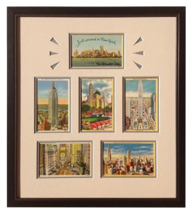 Vintage New York City Postcard Montage