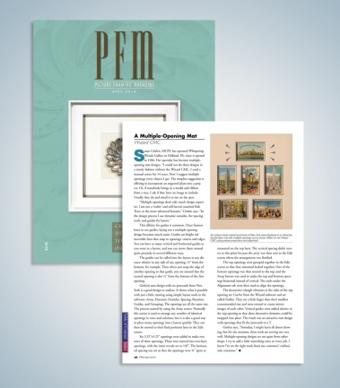 Picture Framing Magazine article