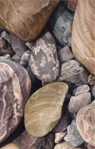 River Rocks II by Karen Eckelmeyer