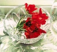 Red Tulips by Karen Eckelmeyer