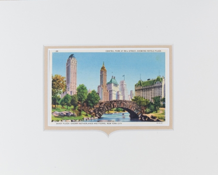 New York City Central Park postcard