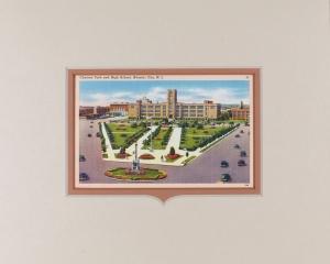 Atlantic City High School Postcard