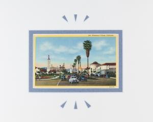 Westwood Village, California postcard