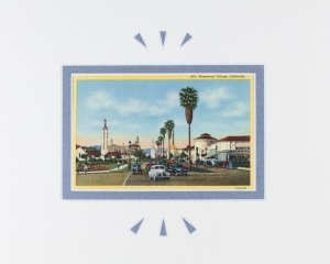 Westwood Village, California postcard