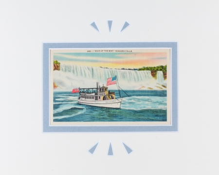 Maid of the Mist, Niagra Falls postcard