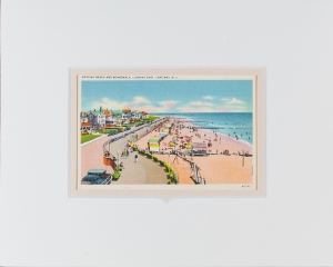 Cape May Beach postcard