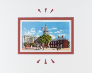 Philadelphia PA Independence Hall Vintage Postcard