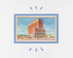 Atlantic City, NJ Ritz Carlton Vintage Postcard