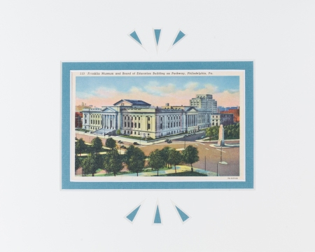 Philadelphia Franklin Institute Postcard