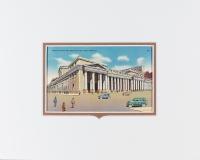 New York City, PA Station vintage postcard
