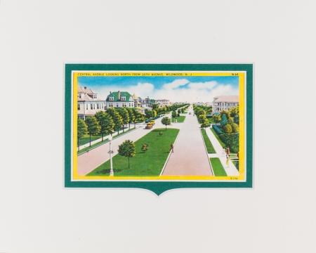 Wildwood NJ Central Ave postcard