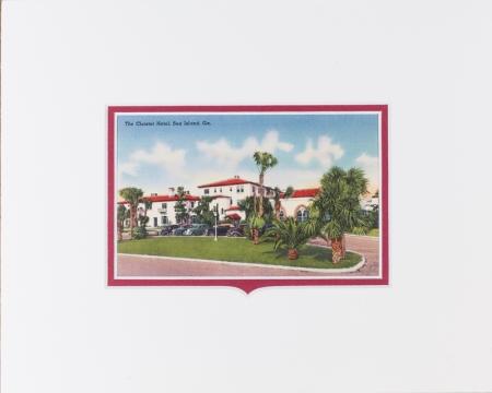 Sea Island Georgia postcard