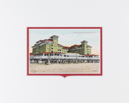 Atlantic City, NJ Chelsea Hotel postcard