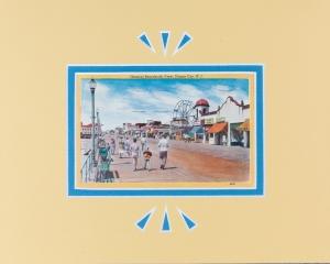Ocean City, NJ Boardwalk postcard