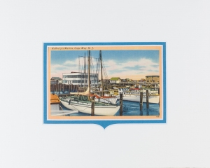 Cape May, NJ Rafferty's Marina postcard