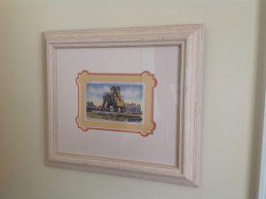 Lucy the Elephant Framed Postcard