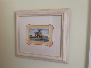Lucy the Elephant Framed Postcard