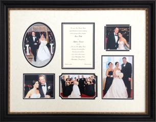 Custom Framed Wedding Montage