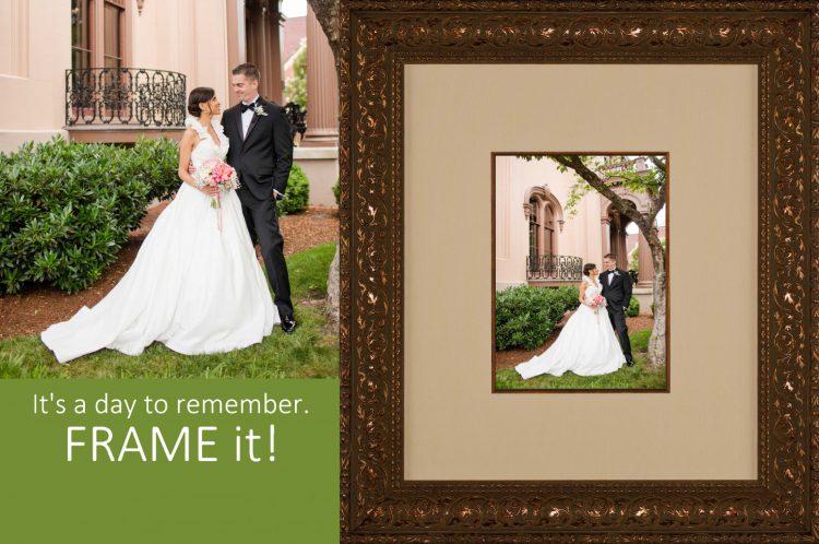 Wedding Custom Framing – Whispering Woods Gallery