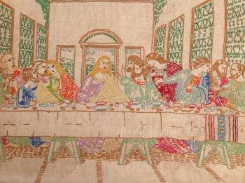 Last Supper Stitchery