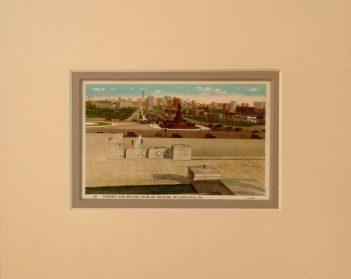 Philadelphia Skyline and Parkway Vintage Postcard $22