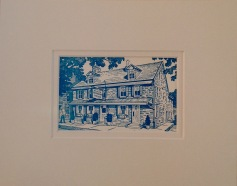 Temperance House Vintage Postcard $22