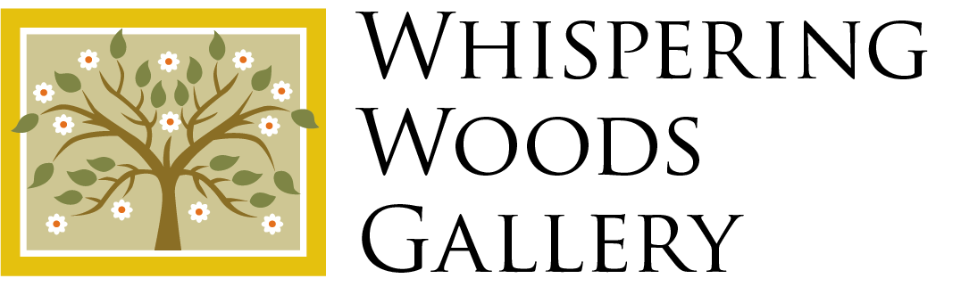Whispering Woods Gallery Logo