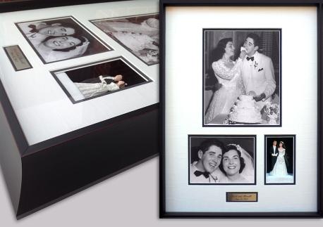 Wedding Cake Topper Framed