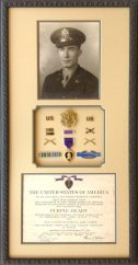 Custom Framing for Military Medals